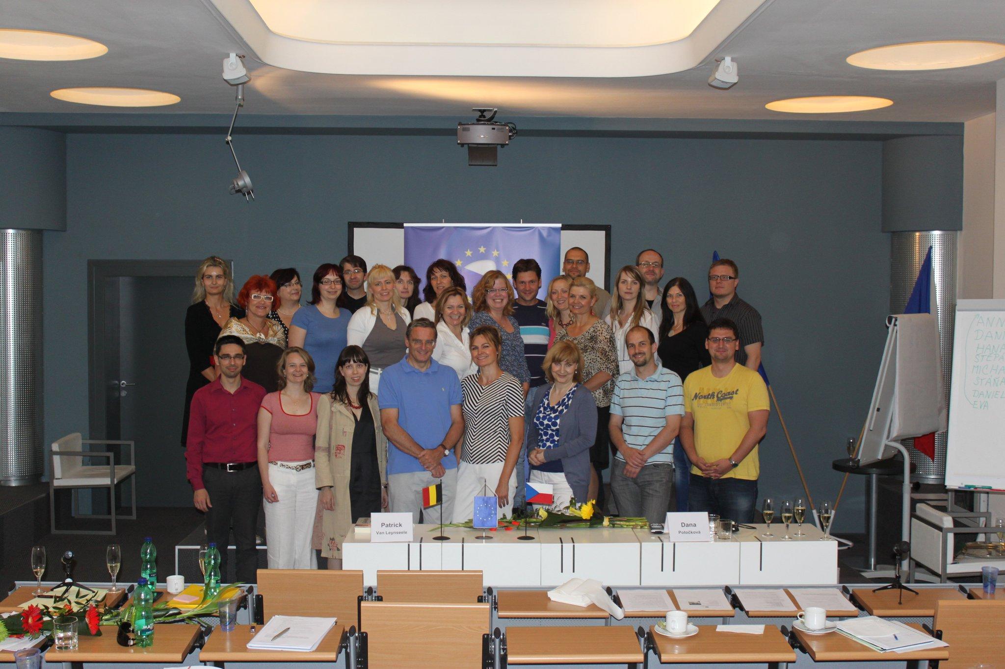 Praha 2011, školení České a Bruselské advokátní komory v mediaci